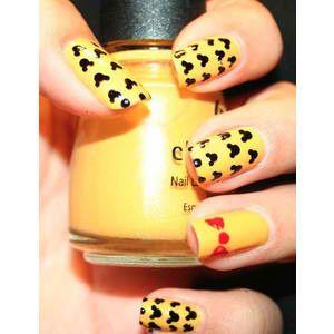 mickey/minnie mouse :): Nail Designs, Disney Nails, Mickey Nails, Mickey Mouse Nails, Nail Art