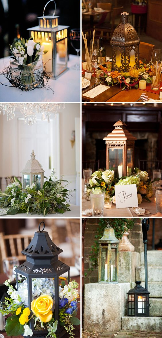 Lantern g  pixels center pieces pinterest