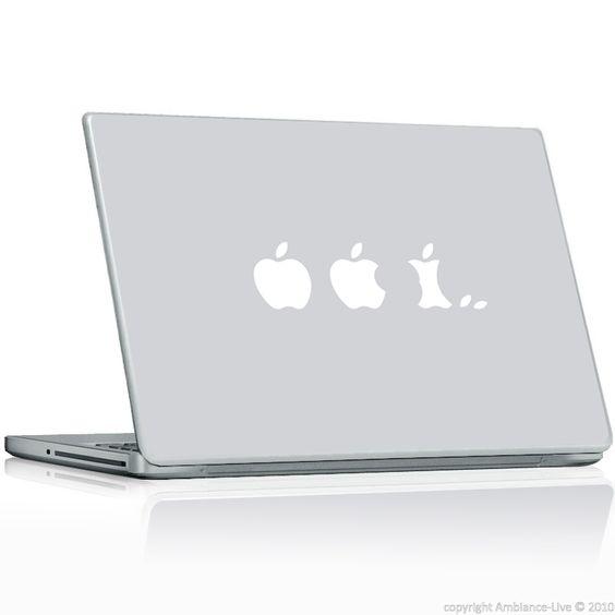 stickers pour Mac Evolution de la pomme / ambiance-live