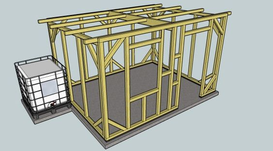 Construction chalets and google on pinterest for Sketchup jardin