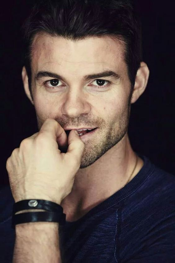 Daniel Gillies as Elijah Mikaelson..... My god that smile !!!!!!