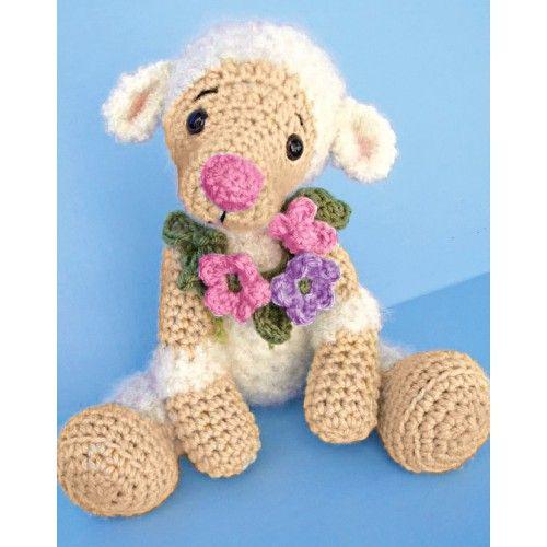 Mary Maxim - Crochet Little Lamb kit $29.99