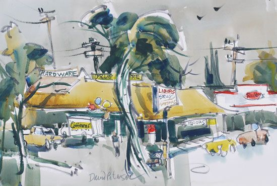 David Peterson - Watercolor Painting