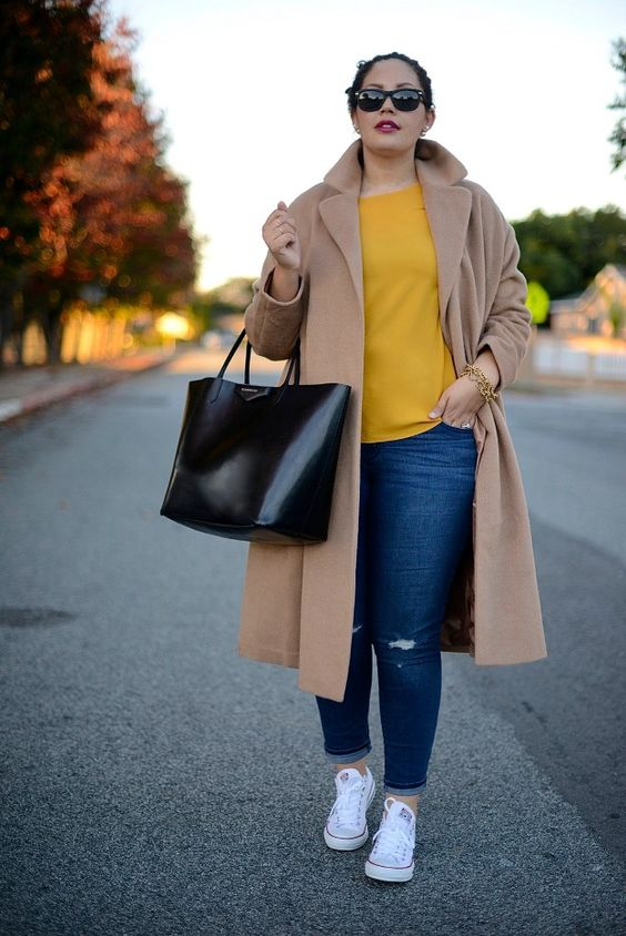 Nighttime Casual   Cute Fall Fashion for Extended Sizes, check it out at http://youresopretty.com/plus-size-fashion