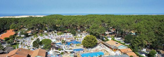 Landes Camping - Camping ***** THE OLD PORT Messanges Aquitaine.