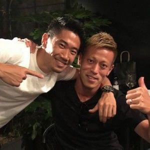 本田圭佑さんと香川真司さん