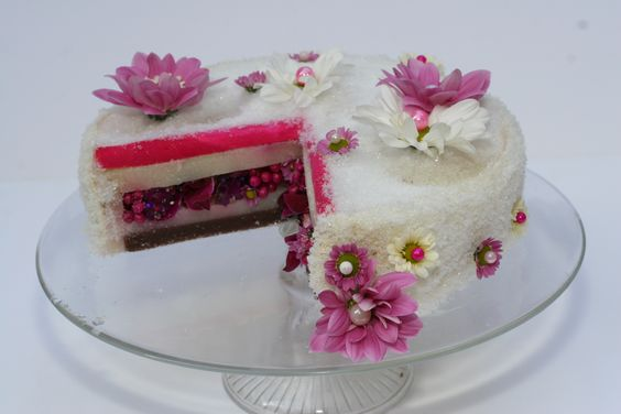 Another flowers cake
