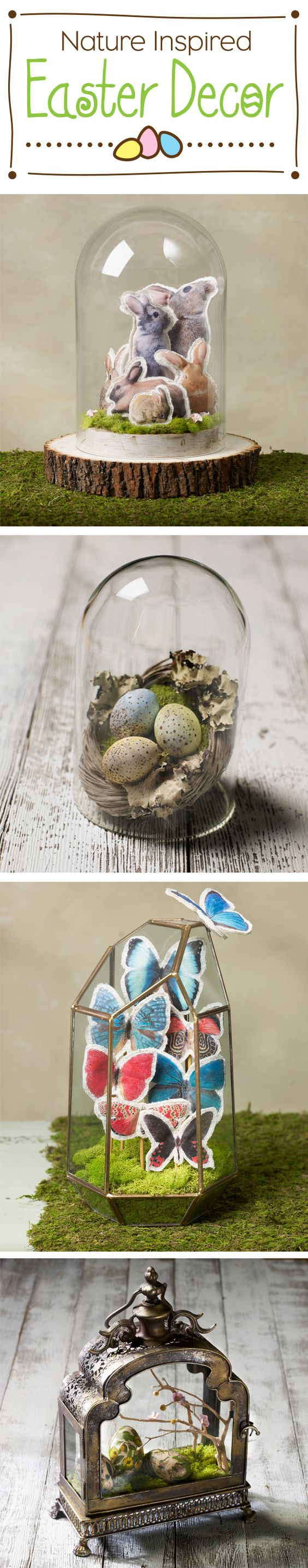 DIY Nature Inspired Easter Decor