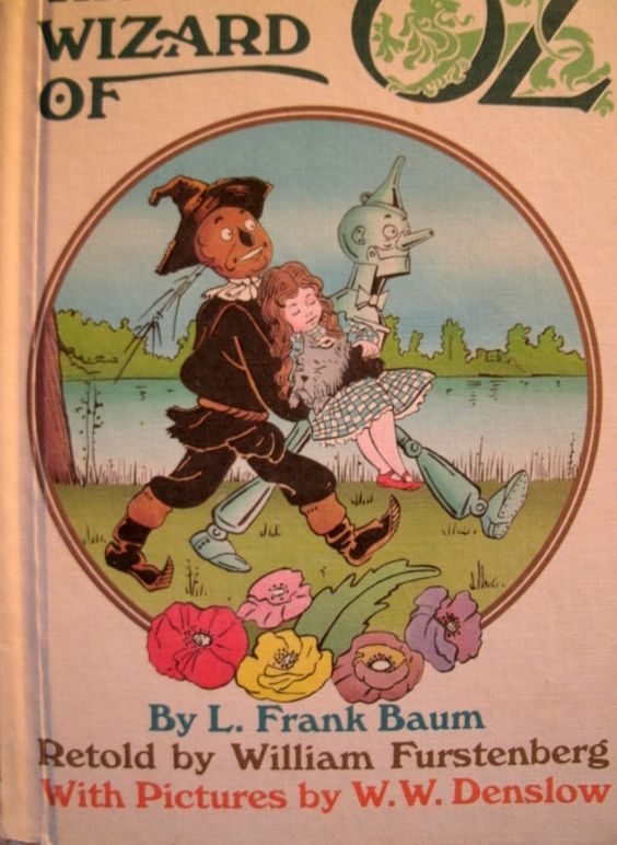 The Wizard of Oz L. Frank Baum Weekly Reader Book 1984 LoveVintageAlways: