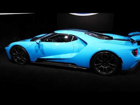 New Custom 2019 Ford Gt Supercar Baby Blue Paint Galpin Hall Of Customs 2018 La Auto Show Youtube Baby Blue Paint Ford Gt Super Cars