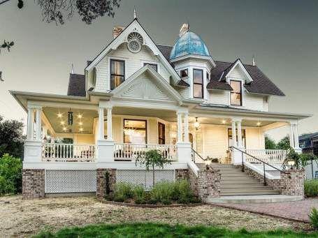 1900 Victorian In Fair Oaks California Captivating Houses In 2020 Fair Oaks California Victorian Style Homes Fair Oaks