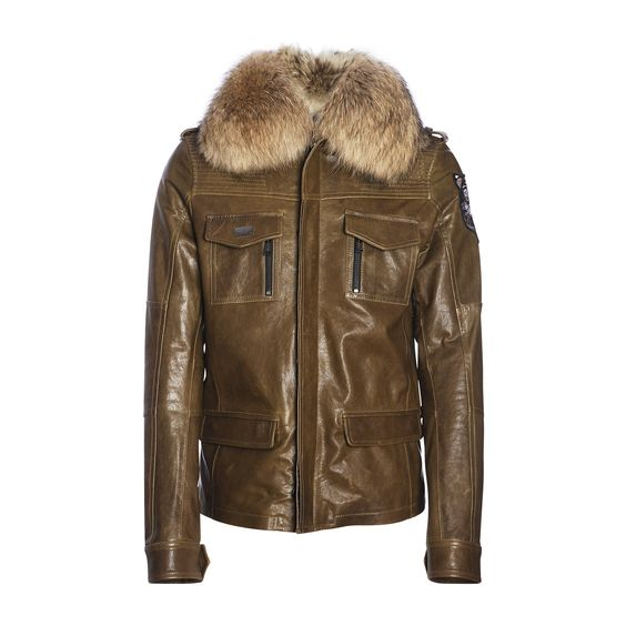PHILIPP-PLEIN Lederjacke mit Pelzkragen  #mode #style #fashion #pelz #fur #leather #jacket #lederjacke