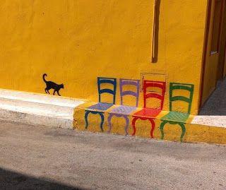 Arte de rua simples, forte e muito criativa!!