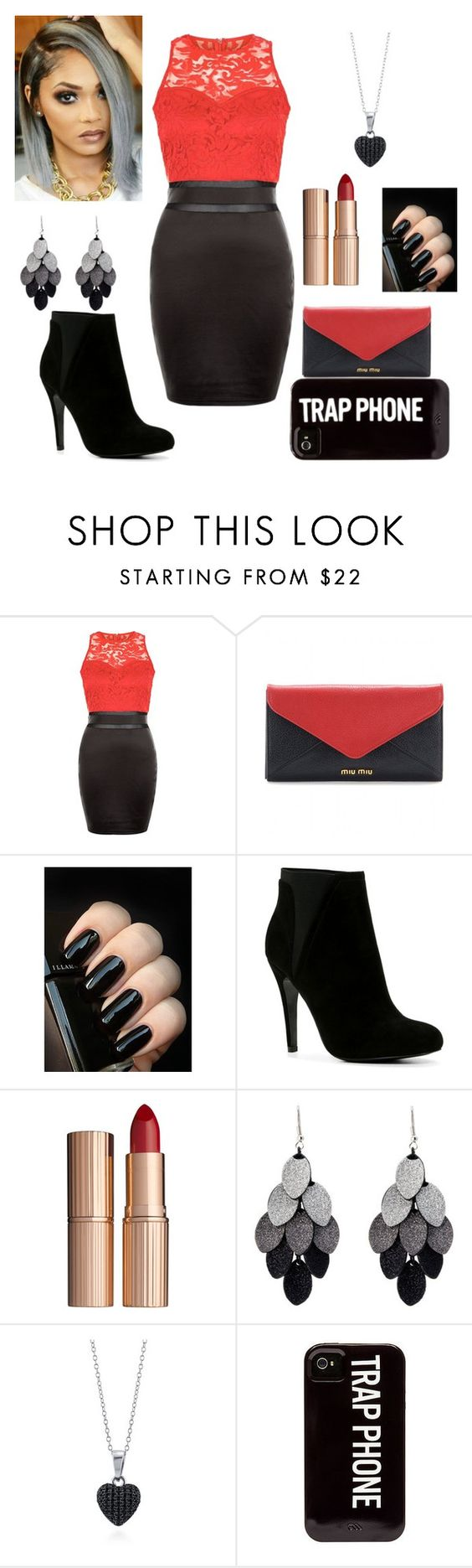 """""""Untitled #107"""" by nadswest98 ❤ liked on Polyvore featuring AX Paris, Miu Miu, ALDO, Charlotte Tilbury, Oasis, BERRICLE, women's clothing, women, female and woman"""