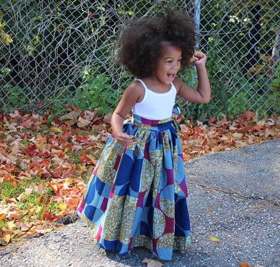 African children's fashion: