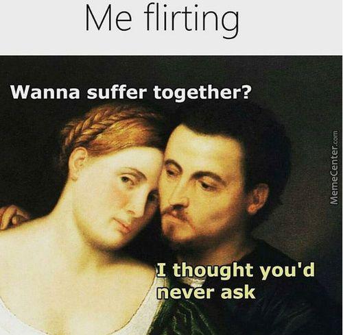 flirter humour