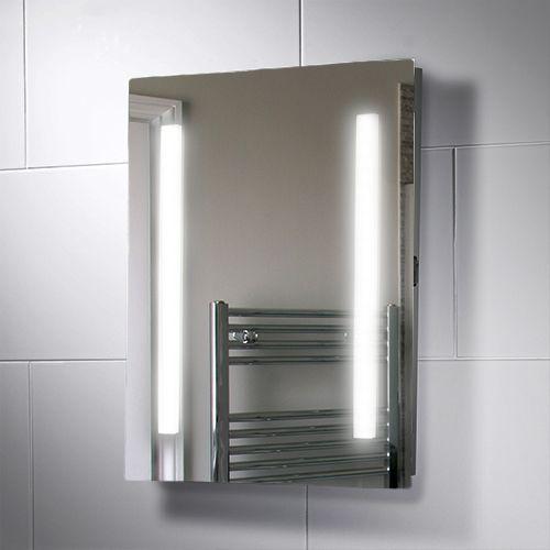 390x500mm Serena Led Illuminated Bathroom Mirror Illuminated Mirrors Bathroom Mirror Lights Mirror