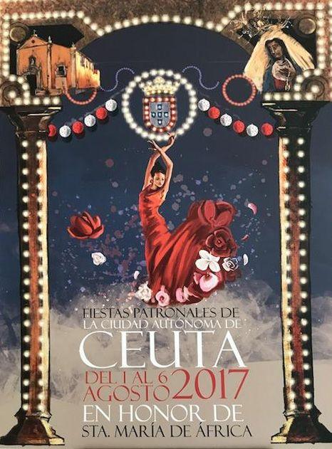 cartel santa maria de africa ceuta 2017