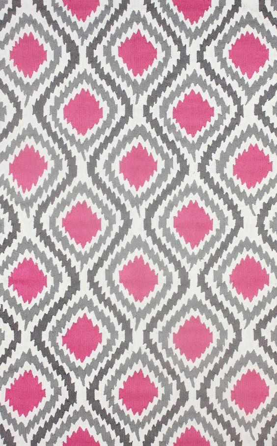 Sonya Rug in Pink