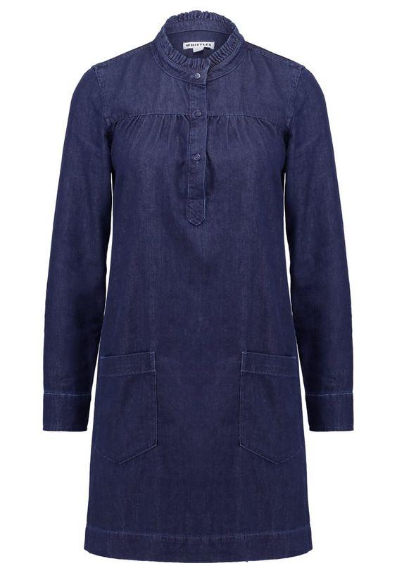 Whistles MATILDA Jeanskleid dark blue Premium bei Zalando.de | Material Oberstoff: 100% Baumwolle | Premium jetzt versandkostenfrei bei Zalando.de bestellen!