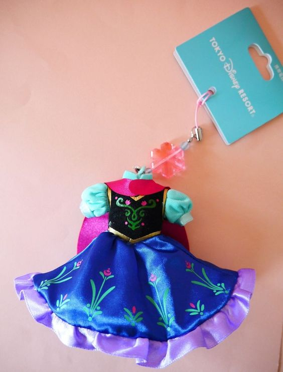 New Tokyo Disneyland Disney FROZEN Anna Dress Mobile phone display cleaner Japan