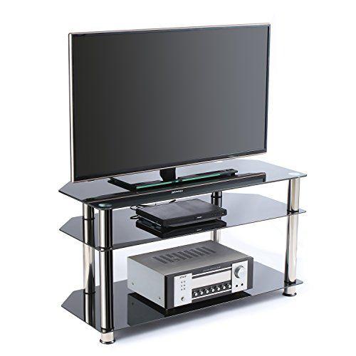 Porta Tv 50 Pollici.Offerta Di Oggi Rfiver Mobili Porta Tv Angolare Di Vetro