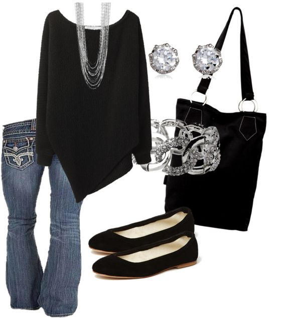 """""""Black and Silver"""" by calyson on Polyvore"""