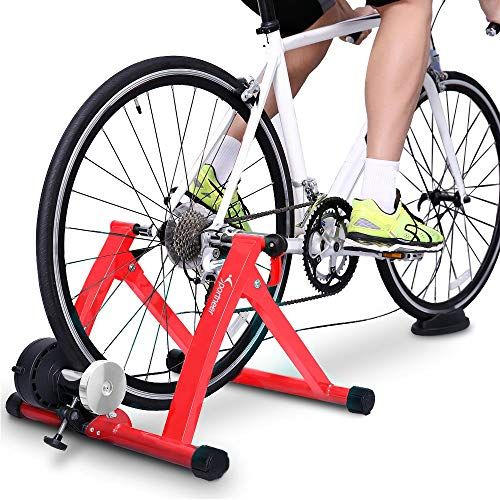 New Sportneer Bike Trainer Stand Steel Bicycle Exercise Magnetic