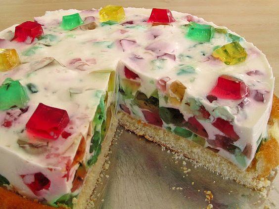 Leckere Rezepte: Glasscherben Torte
