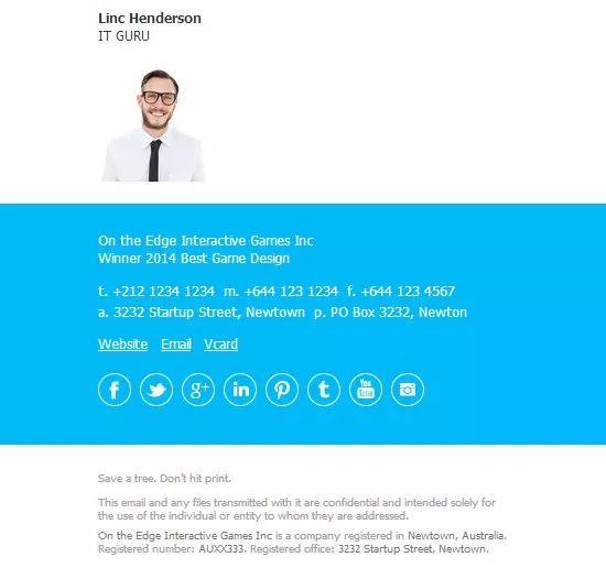 good email signatures