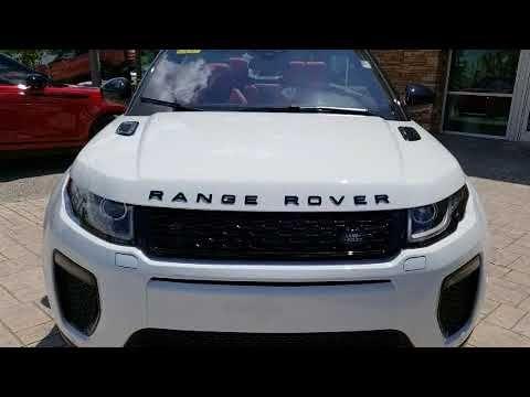 2018 Land Rover Range Rover Evoque Hse Dynamic Land Rover Range Rover Evoque Range Rover