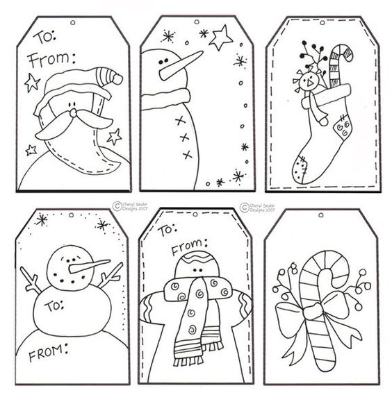 Could Be Fun For Cousins Free Color Your Own Christmas Tag