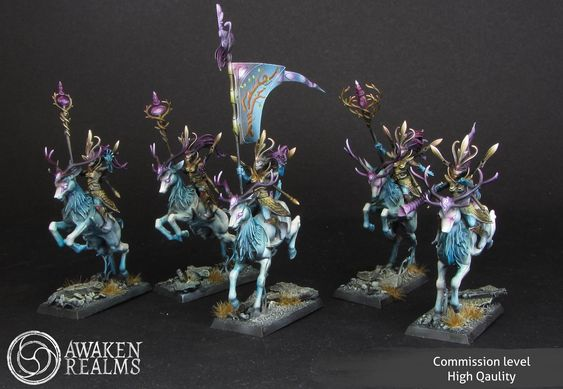 Warhammer AoS - Wood Elves - Sisters of the Thorn