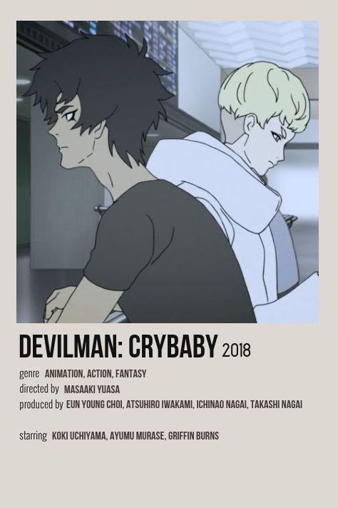 devilman crybaby minimalist tv show