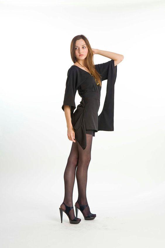 The Twilight dress  Woman mini black dress or by undressclothing, $44.00