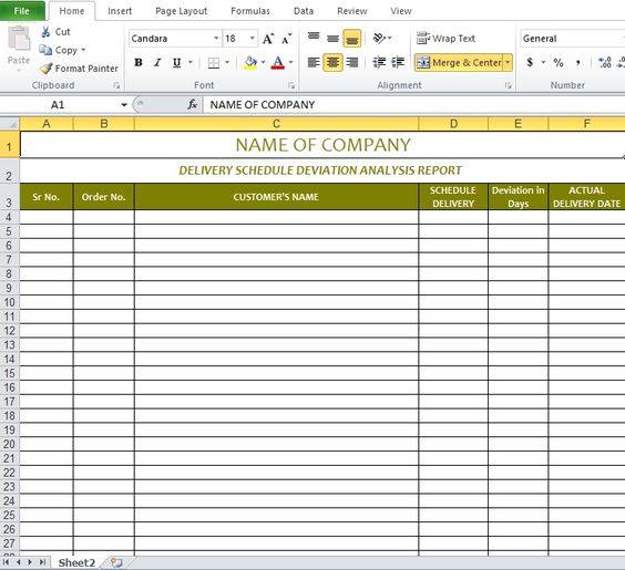 Delivery schedule template excel Excel Templates Pinterest - survey forms in excel