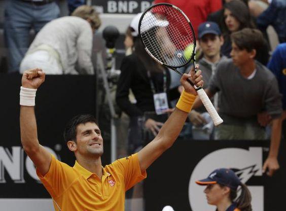 rome tennis final 2015 novak - Google Search