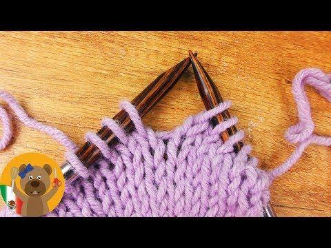 Como Aprender A Tejer Crochet Para Principiantes Puntos De Reves Aprende A Tejer El Punto Jersey Puntos Del