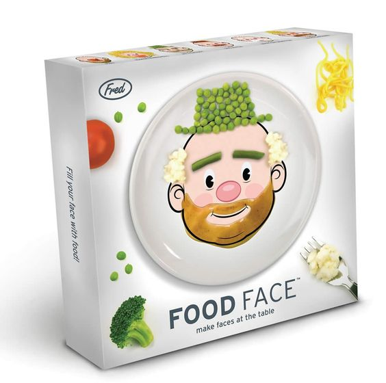 food face--excellent! but...is it unwise to encourage playing with food?