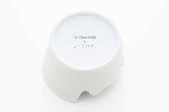 nendo: aromatherapy candle holder for häagen-dazs