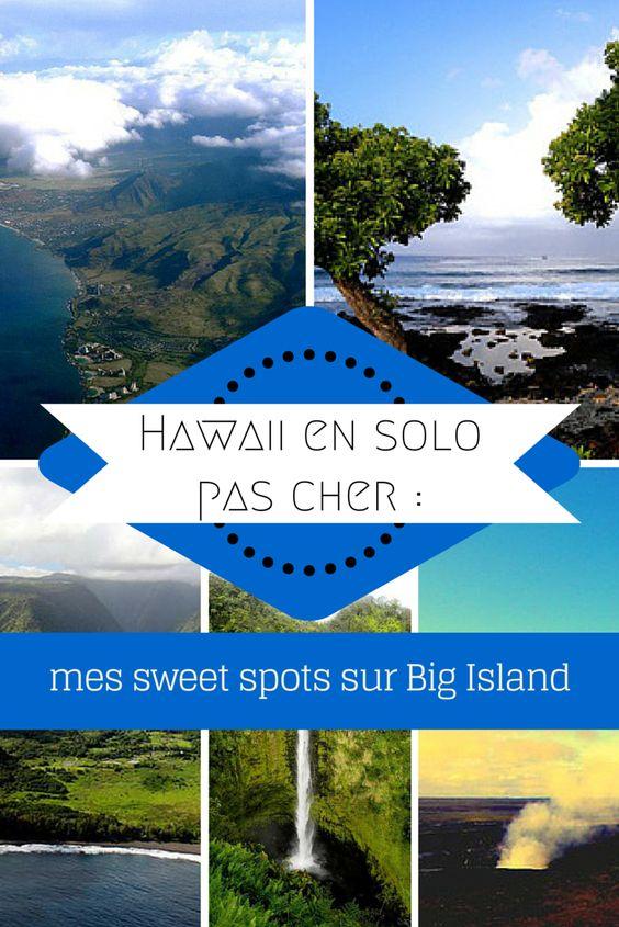 Avec  ses eaux cristallines qui grouillent de vie, ses chutes qui se lancent dans le vide et ses volcans légendaires, Big Island fait partie de ces lieux qui ont du caractère, de la personnalité. Voyager à Hawaï avec un petit budget: oui c'est possible!