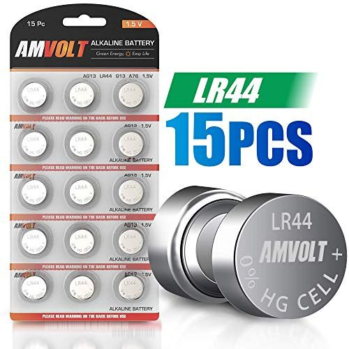 15 Pack Lr44 Ag13 A76 Battery Ultra Power Premium Alkaline 1 5 Volt Non Rechargeable Round Button Cell Batteries For Watches Clocks Remotes Games Controllers Toys Electronic Devices 15 Pack