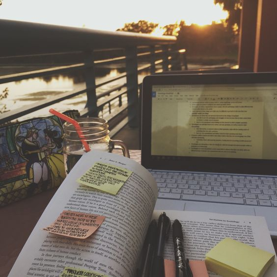 introverted-reader: My campus makes me want to study and do homework: