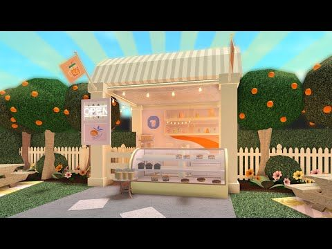 Building A Lemonade Stand In Bloxburg Forcing People To Buy It Youtube Unique House Design House Decorating Ideas Apartments Home Building Design