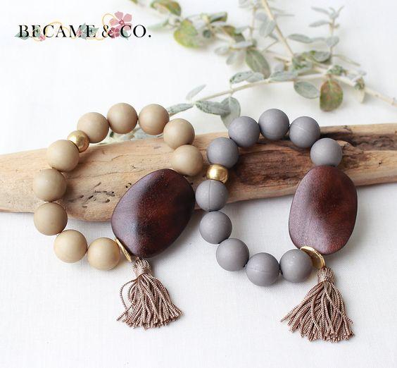 Preciosas pulseras de diseño hechas a mano. Si te gusta escríbenos a became.pedidos@gmail.com
