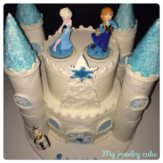 princess castle cake design gateau reine des neiges. Black Bedroom Furniture Sets. Home Design Ideas