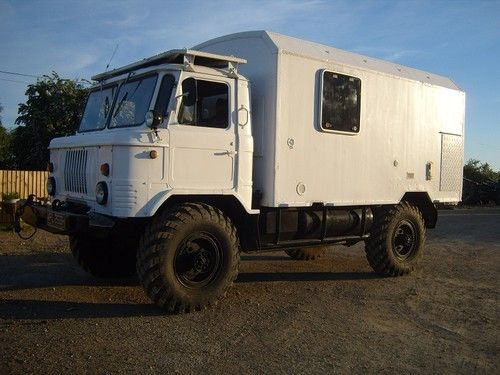 Expedition Motorhome Camper Truck Off Road 4x4 Gaz66