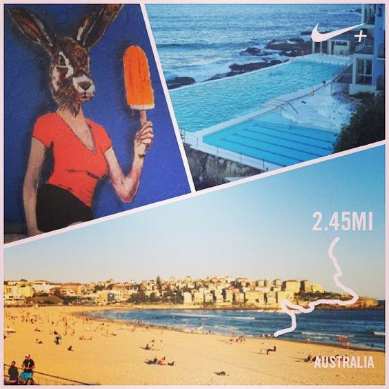 Ohh so this is a beach?! #Bondi #bonditobronte #nikerunning #nikefree #firsttimeatabeach #melbourneforever by katiedmcneil http://ift.tt/1KBxVYg