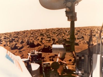 Viking 1 on the Martian Surface on July 24, 1976 Fotografisk trykk