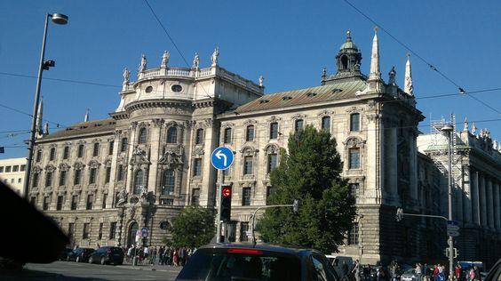 Justizpalast, München, Germany